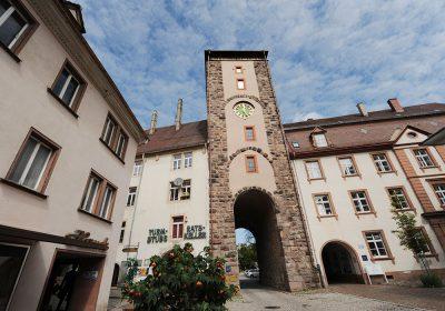 Blick auf das Obere Tor